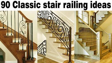 contoh desain railing tangga klasik besi tempa youtube