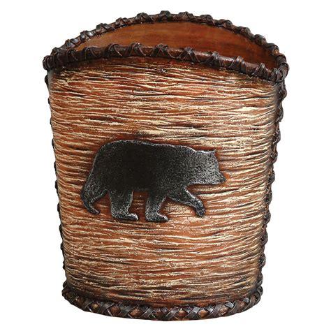 waste basket black hideaway waste basket