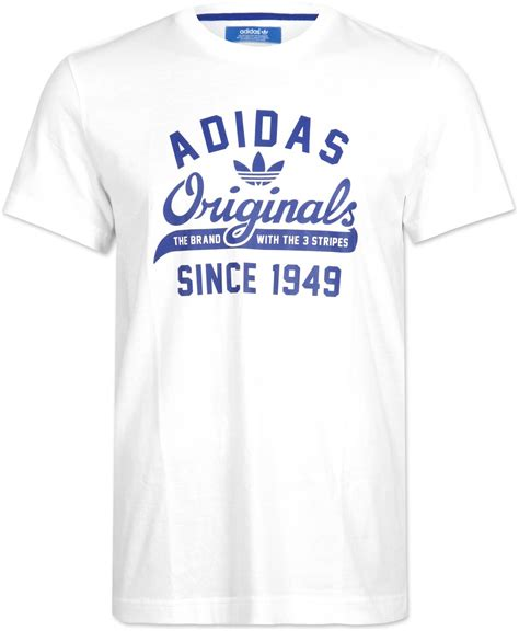 Oblongku T Shirt Graffiti Putih adidas originals sport t shirt white blue