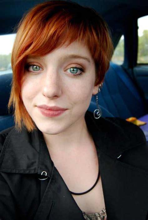 short cropped haircut short hairstyles