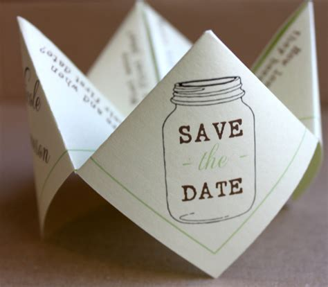 15 Brilliantly Creative Save the Date Ideas   weddingsonline