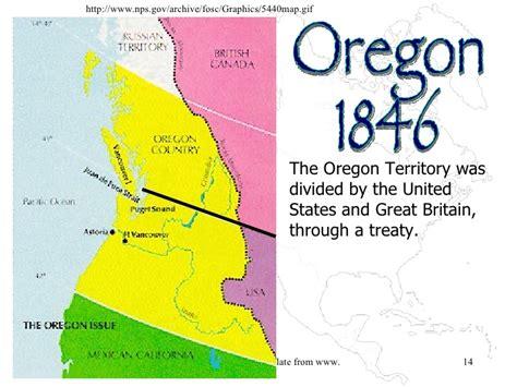 map of oregon territory 1846 usi8 review