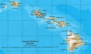 us map hawaii located hawaii reference map