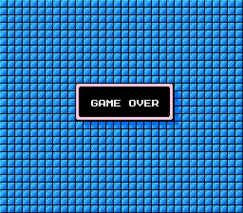 game over mega man ii (nes) video game music