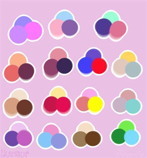 pretty color combinations pretty color combinations by galaxyyrain on deviantart