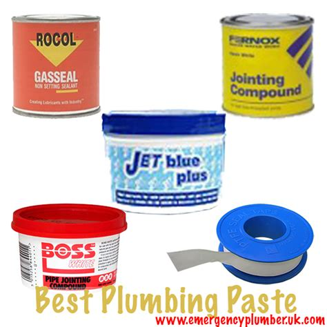 best paste what is the best plumbing paste i can use on my plumbing
