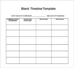 Data Collection Chart Template by Blank Timeline Template 6 Free For Pdf