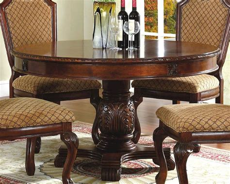 Traditional Dining Table And Chairs Traditional Dining Room Sets Cherry Peenmedia