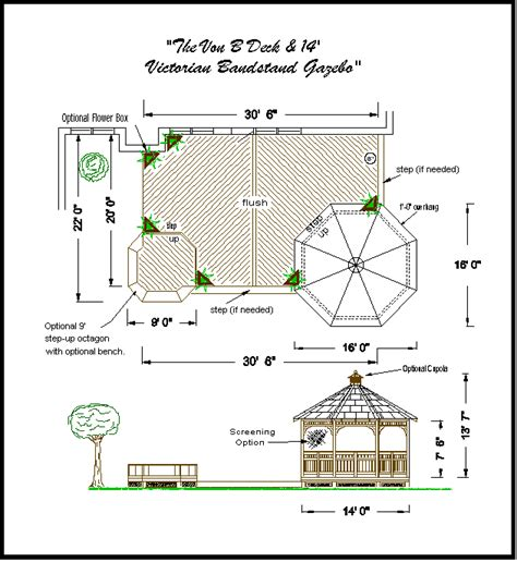 gazebo floor plans gazebo plans kris allen daily