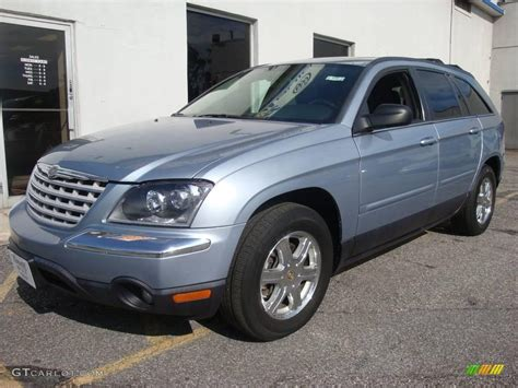 Blue Chrysler Pacifica by 2004 Butane Blue Pearl Chrysler Pacifica Awd 12121580