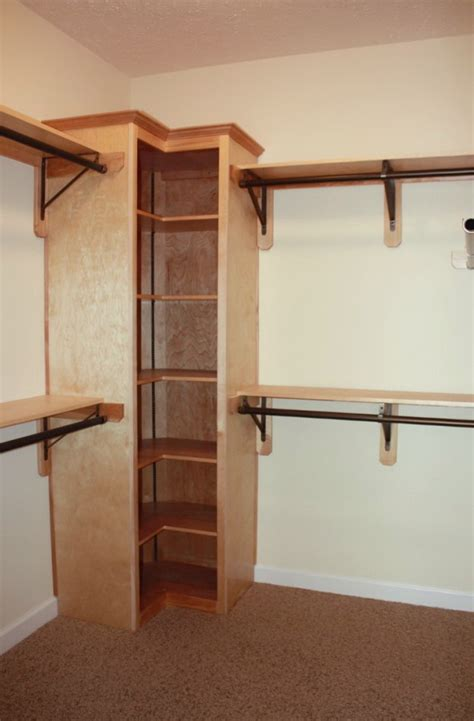 corner closet shelves design the homy design