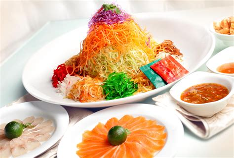 new year fish yu sheng welcome lunar new year with yu sheng asia food