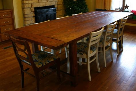 Farm Style Kitchen Table Farmhouse Style Dining Table Plans Kitchentoday