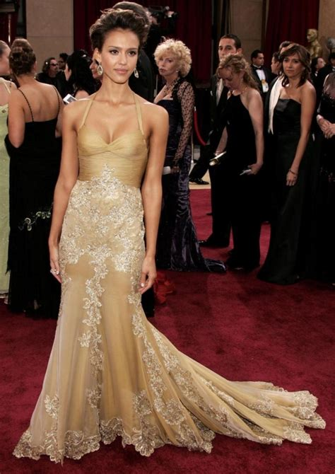 Oscars Carpet Alba by 2006 Academy Award Carpet Photos