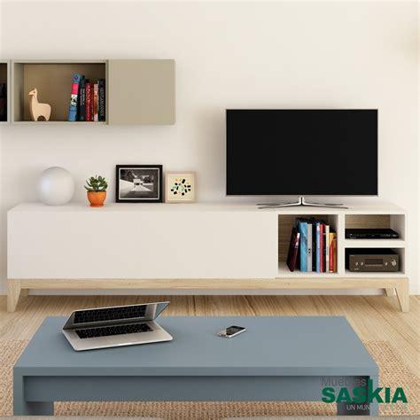 mueble para tv moderno muebles tv sal 243 n moderno muebles saskia en plona