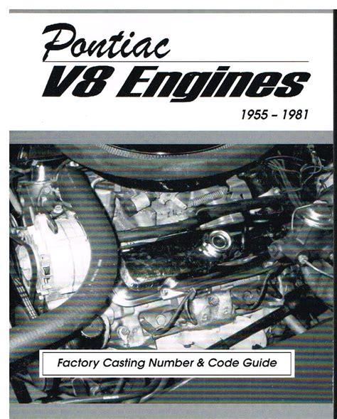 pontiac v8 engines pontiac v8 engines factory number code guide