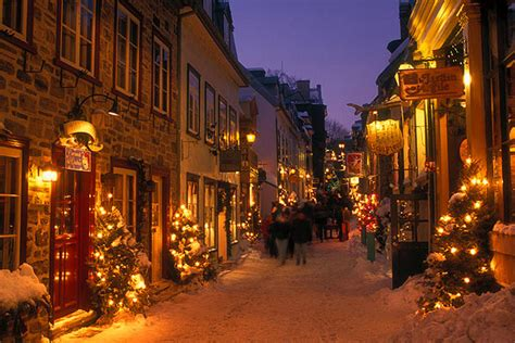 best place to spend christmas quebec city canada