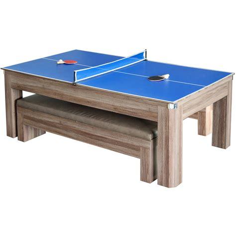 hathaway pool table combo hathaway games newport 7 pool table combo set reviews