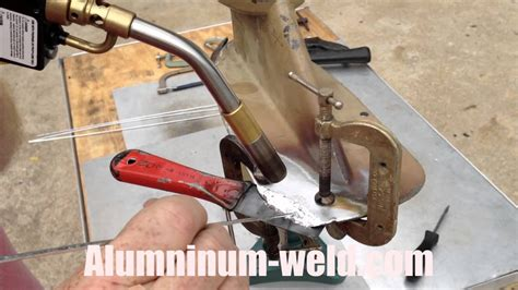how to repair aluminum boat aluminum boat skeg and lower unit repair youtube