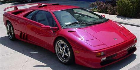 The Lamborghini Diablo line up at LamboCARS.com