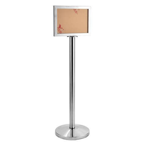 sign stands stand retort stand stainless steel sign board stand