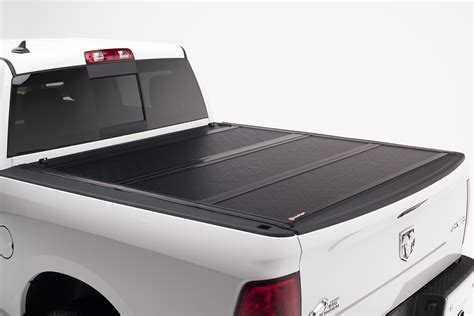 hard truck bed covers bak industries 72406 bakflip f1 hard folding truck bed