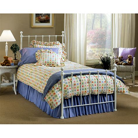 Walmart White Bed Frame Hillsdale Molly Bed With Bed Frame White Walmart