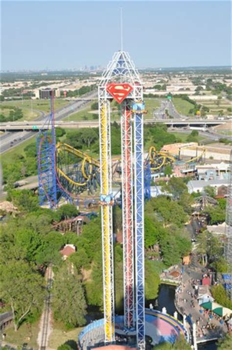 superman ride picture of six flags over texas, arlington