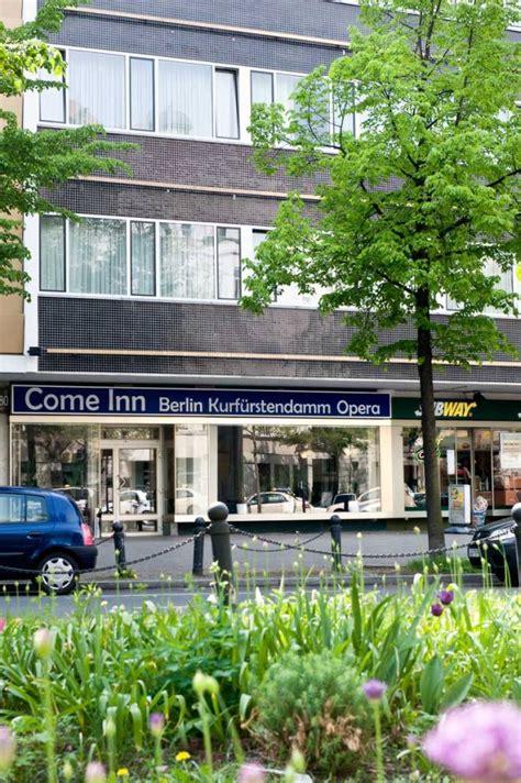 hotel come inn berlin come inn berlin kurf 252 rstendamm opera