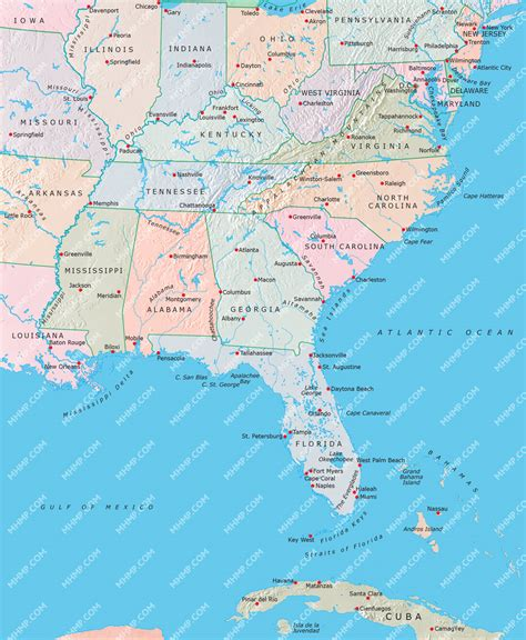 america map east image gallery eastern usa