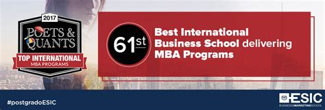 Poets And Quants Tech Mba by Poets And Quants International Mba Programs Ranking 2017