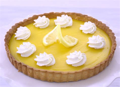 Gourmet Kitchen Ideas by Lemon Tart Recipe Dishmaps