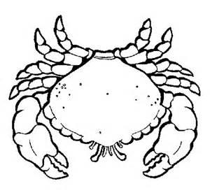 Nautical Color coloriage de grand crabe pour colorier coloritou com