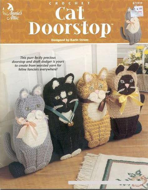 knitting pattern house door stop 57 best crochet door stop images on pinterest crochet