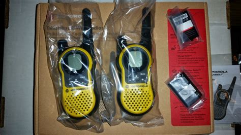 Motorola Mh230 motorola talkabout mh230 two way radio review