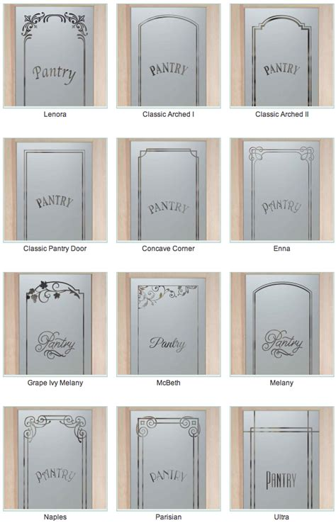 pantry doors on glass pantry door painted