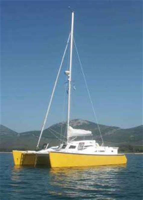 sailing catamaran woods gypsy budget ocean cruising catamaran by woods designs