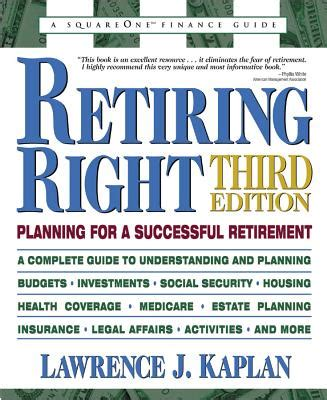retirement retirement planning and income planning for successful retirement living and sustainable retirement income books retiring right planning for a successful retirement book