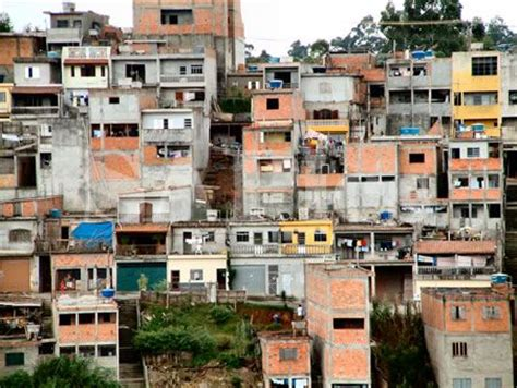 brazilian homes in s 227 o paulo brazil favelas are the areas of housing of
