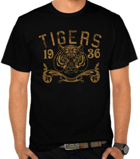 Kaos Bandung Tiger Lost Original Maxcyber jual kaos tigers harimau satubaju