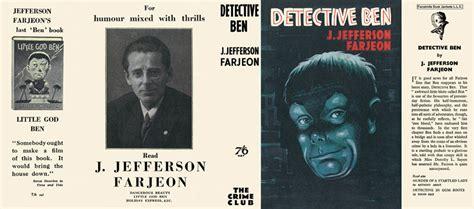 Detektif Ben detective ben j jefferson farjeon
