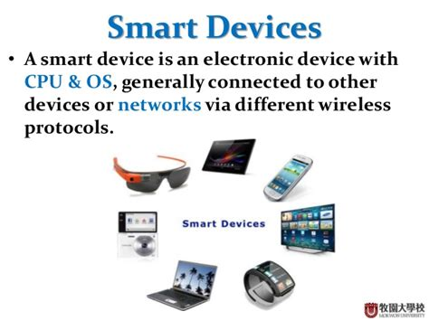 smart devices introduction to smart devices