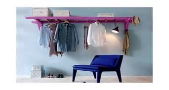 Ordinary Papier Peint Chambre Adulte #13: Diy-deco-fabriquer-une-etagere-dressing-avec-une-echelle.jpg