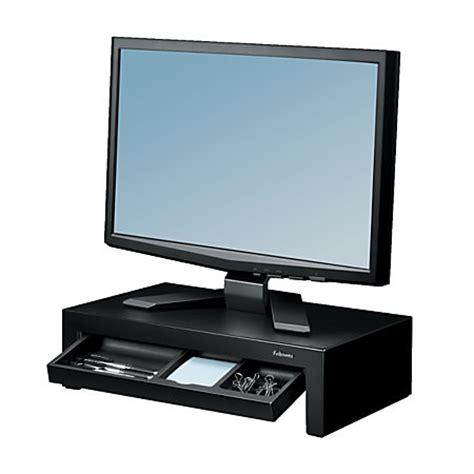 Office Depot Monitors Fellowes Designer Suites Monitor Riser 12 5 H X 5 13 W X