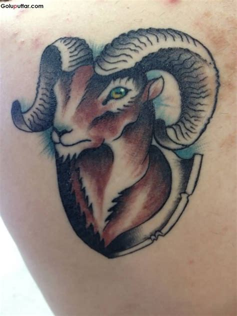 cool 3d tattoo designs cool 3d aries design idea tatto