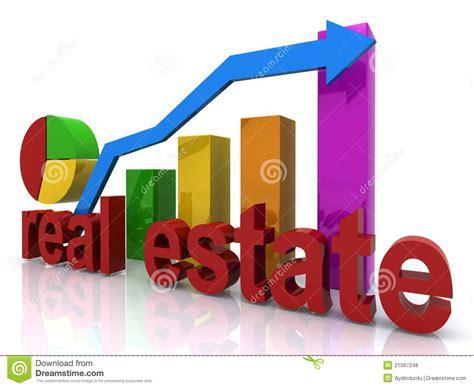 house market real estate market chart royalty free stock photos image 21067248