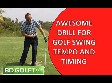 golf swing timing swing tempo videolike