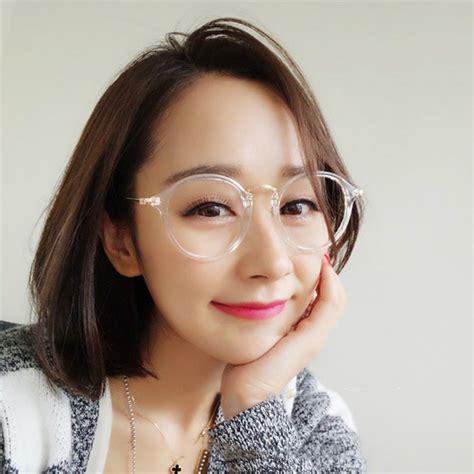 Kacamata Fashion Wanita anewish kacamata retro fashion wanita black gold