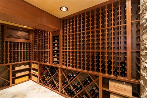 Contemporary Dining Room Decorating Ideas by New Jersey Custom Wine Cellar Builders Featured On Fox