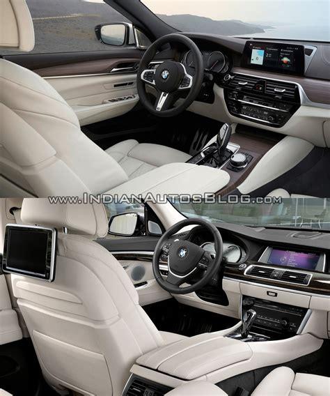 Bmw Gt Interior by 2017 Bmw 6 Series Gt Vs Bmw 5 Series Gt Interior Indian